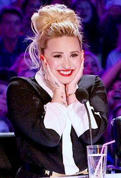 Demi Lovato. X Factor