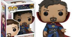 Doctor Strange Funko Pop & Dorbz Figures Unveiled