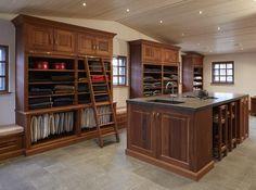plenty of space mahogany tack and laundry room