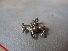 Vintage Pack Mule Sterling Silver 925 Charm Pendant   eBay  15
