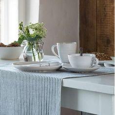 Tazze da colazione Tide bianche.  http://www.artemisiashop.it/shop/vetro-e-ceramica/tazze-e-piatti/
