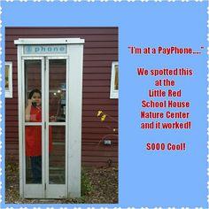 11/6 #oldschool, #phonebooth, #payphone, #boyswerecrazyexcited, #flashback, #notaneverydaysighting