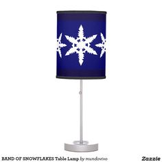 BAND OF SNOWFLAKES Table Lamp