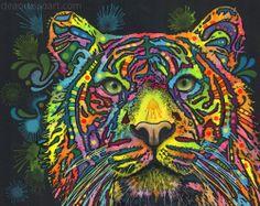 Dean Russo Art — Tiger PRINT