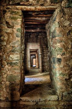 Doorways within Aztec Ruins National Monument, New Mexico by Warren Weinstein on 500px