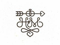 Dribbble - H&M Monogram by Mike Bruner