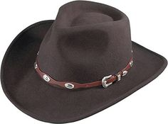 Henschel Hats 5633 Outback Hat, Brown - L Cowboy Hat *** Details can be found by clicking on the image.