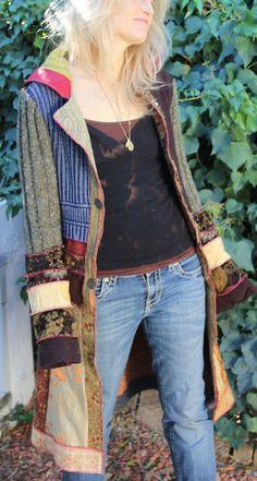 gypsy coat, norakdesign