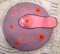 Schuh Kuchen 1. Versuch