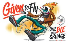 Given to fly by Julio Mendoza, via Behance