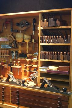 Tool Locker of a Carpenter by Craig Jewell Photography, via Flickr