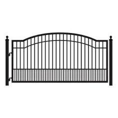 Biscayne Single Driveway Gate http://gateforless.com/