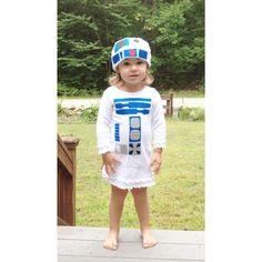 Toddler Robot Dress Costume by TheWishingElephant on Etsy, $52.00