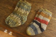 @Mallory Puentes Boren  Knitting Baby socks fpr those more dressy occasions!