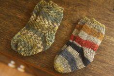 Knitting Baby socks