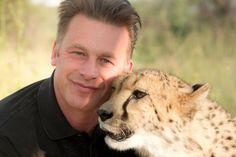 TV presenter and naturalist Chris Packham is a wildlife expert, photographer and author with a passionate concern for conservation and the environment. Cheetahs, Tv Presenters, Night Out, Wildlife, Celebrities, People, Wild Animals, Respect, Interview