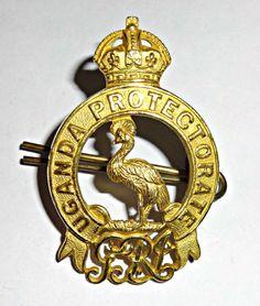 Uganda Protectorate GV1 Badge