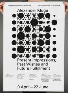 garadinervi:  Hans Gremmen, Alexander Kluge, Poster for OCA,...