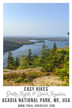 Most people spend their time on the east side of Acadia National Park. Beech Mountain and Pretty Marsh are great reasons to check out the west side! #acadianationalpark #maine #hiking #travel #nationalparks Beech Mountain, Mountain Hiking, Acadia National Park, National Parks, East Side, Amazing Nature, North America, Trail, Journey