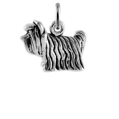 TheCharmWorks Sterling Silver Yorkshire Terrier Dog Charm ** Check out this great product. (This is an affiliate link) #Charms
