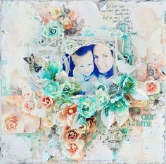 scrapbooking inspiration by Stacey Young