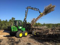 John Deere Equipment, Heavy Equipment, Harvester, Tractors, Construction, Heavy Machinery, Woods, Wood, Tools