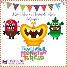 Want to learn more about teaching your monster to read? Host a reading party! Message me or go to w4591.myubam.com to schedule a party!!!
