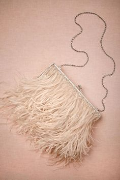 Aigrette Clutch - anthropologie.com