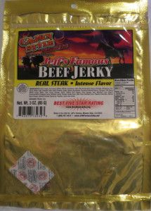 Discover how Jeff's Famous™ - Cajun Style beef jerky fared in a jerky review http://jerkyingredients.com/2014/05/10/jeffs-famous-cajun-style/  #beefjerky #reviews #food #jerky