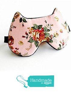 Vintage Rose Cat Shape Sleep Mask For Women Handmade in USA. from Shushbear https://www.amazon.com/dp/B01G4RHG3Q/ref=hnd_sw_r_pi_dp_vShCxb7A78DEZ #handmadeatamazon