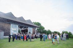 Sound-side wedding reception at Roanoke Island Festival Park