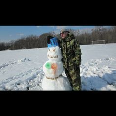 Jesse and Cookie Snowman
