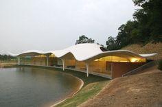 Meiso no Mori Municipal Funeral Hall | Architect Magazine | Toyo Ito & Associates, Architects, Kakamigahara, Japan, Community, toyo, ito, Toyo Ito, 2013 Pritzker Prize