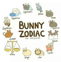 bunny zodiac- funny that I'm Gemini and that's 2 buns, exactly what I have! - bunny zodiac- funny that I'm Gemini and that's 2 buns, exactly what I have! Cute Animal Drawings, Kawaii Drawings, Cute Drawings, Pencil Drawings, Zodiac Star Signs, My Zodiac Sign, Zodiac Signs Animals, Zodiac Signs In Order, Chinese Zodiac Signs