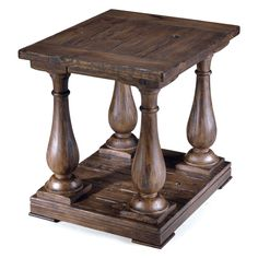 Have to have it. Magnussen Densbury Rectangular End Table - $509.99 @hayneedle