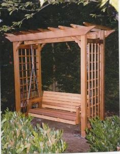 The pergola kits are the easiest and quickest way to build a garden pergola. There are lots of do it yourself pergola kits available to you so that anyone could easily put them together to construct a new structure at their backyard. Cheap Pergola, Outdoor Pergola, Backyard Pergola, Pergola Shade, Pergola Plans, Pergola Kits, Backyard Landscaping, Pergola Ideas, Pergola Roof