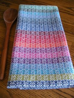 Handwoven Kitchen Towel Guest Towel Hand by ThistleRoseWeaving