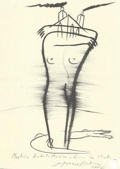 MARTIRIO ARCHITETTONICO E ANIMALE ITALICO Autore: Marco Del Re #sefiart #drawing #disegno #art
