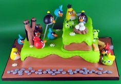 Tortas decoradas de Angry Birds | Tortas decoradas