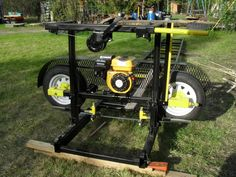 If you have a lot of timber to be milled you're going to want a sawmill. Why not make your own sawmill?