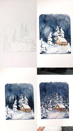 (@rosies.sketchbook) Process photos of my watercolor artworks. #watercolor #watercolour #painting #sketch #art #artist #artwork #draw #drawing #doodle #watercolorist #illustration #illustrate