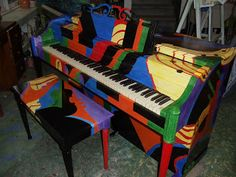 i like this Painted Piano looks cool http://pinterest.com/cameronpiano