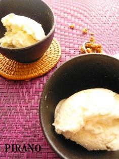 【80kcal】混ぜるだけで簡単♪すんごい豆腐アイスクリーム♪ | 美味しいね!!~管理栄養士平野信子のヘルシーレシピ帖~