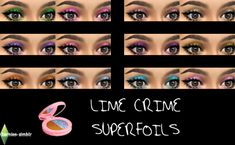 Sims 4 CC's - The Best: Eyeshadow by Bernie's Sims