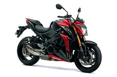 The GSX-S1000 with GSX-R1000 K5-based engine, all-new frame, and 3-mode traction control.