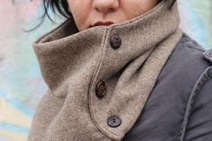 Professor Scarf by FareFeathers on Etsy