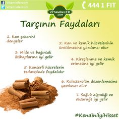 Share the benefits of cinnamon with all your friends - Yemek Tarifleri - Resimli ve Videolu Yemek Tarifleri Nutrition Drinks, Diet And Nutrition, Healthy Drinks, Health And Beauty, Health And Wellness, Health Tips, Health Fitness, Olly Vitamins, Cranberry Vitamins