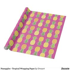 Pineapples - Tropical Wrapping Paper