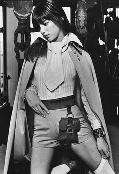 70's fashion icon Jane Birkin