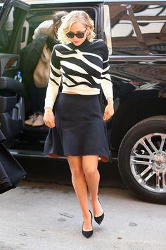 Jennifer Lawrence in Dior.